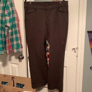 Torrid Slim Boot Pant Olive All-Nighter Ponte 18